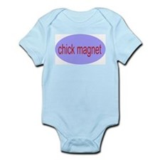 chick magnet Infant Creeper