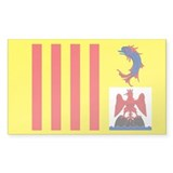 provence alpes cote d azur Rectangle Decal
