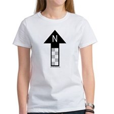 Archaeology north arrow Tee