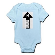 Archaeology north arrow Infant Creeper