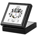Poggi Family Crest Keepsake Box