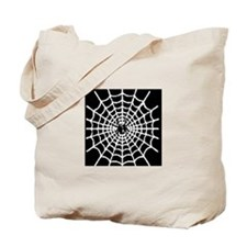 Spider Web Halloween Candy Tote Bag