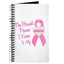 Bravest Person PINK (Grandma) Journal