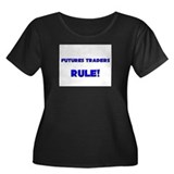 Futures Traders Rule! Women's Plus Size Scoop Neck