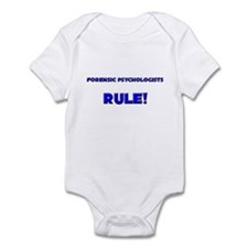 Forensic Psychologists Rule! Infant Bodysuit