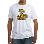 Thanksgiving Harvest Fitted T-Shirt