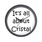 Cool Cristal Wall Clock