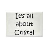 Cute It's all about cristal Rectangle Magnet (100 pack)