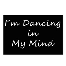Dancing In My Mind bw s Postcards (Package of 8)