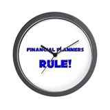 Financial Planners Rule! Wall Clock