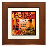 Funny Cole Framed Tile