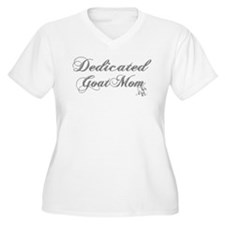 Dedicated Goat Mom T-Shirt