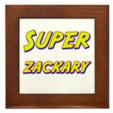 Super zackary Framed Tile