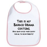 Barack Obama Halloween Costume Bib
