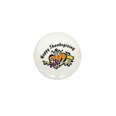 Thanksgiving Day Mini Button