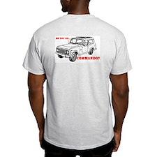 Go Commando Ash Grey T-Shirt