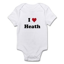I love Heath Infant Bodysuit