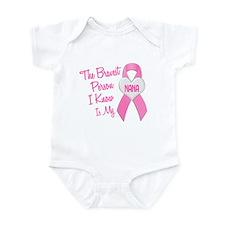 Bravest Person PINK (Nana) Infant Bodysuit