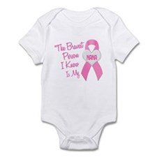 Bravest Person PINK (Nana) Infant Bodysuit