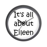Cool Eileen Wall Clock