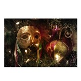 MARDI GRAS MASKS - Postcards (Package of 8)