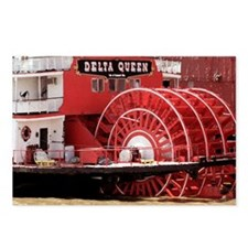 MISSISSIPPI RIVERBOATS - Postcards (Package of 8)