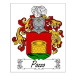 Pozzo Family Crest Small Poster