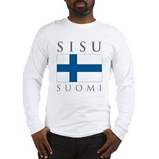 Cute Finnish Long Sleeve T-Shirt