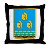 Baku Coat of Arms Throw Pillow