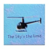 The Sky's the Limit Tile Coaster