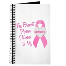 Bravest Person PINK (Granddaughter) Journal