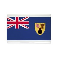 Turks & Caicos Islands Rectangle Magnet