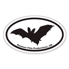 BAT Hammer Film Productions, UK Oval Decal