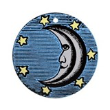 Ancient Moon Ornament (Round)