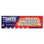 Wallstreet & Greed Bumper Sticker