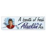 Breath of Fresh Alaskan Air Bumper Bumper Sticker
