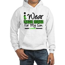 I Wear Lime Green For My Son Hoodie