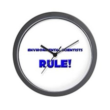 Environmental Scientists Rule! Wall Clock