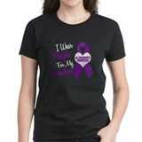 I Wear Purple For My Grandma 18 (AD) Tee