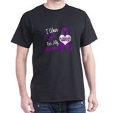 I Wear Purple For My Grandma 18 (AD) T-Shirt