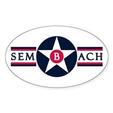 Sembach Air Base Oval Decal