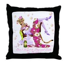 Katty Diva Bubbly Throw Pillow