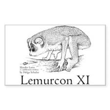 Lemurcon 2005 Rectangle Decal
