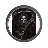 grim reaper poster Wall Clock