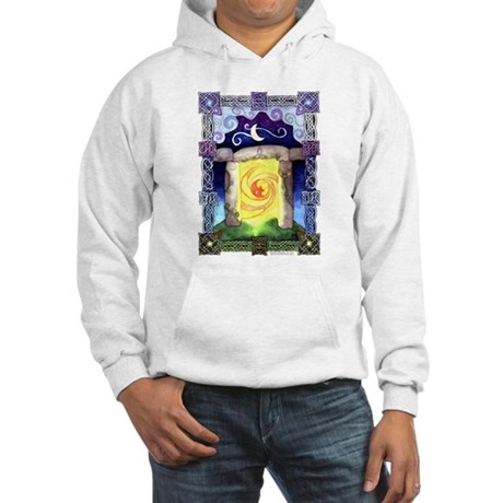Celtic Doorway Hooded Sweatshirt