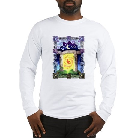 Celtic Doorway Long Sleeve T-Shirt