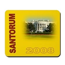 Rick Santorum Mousepad -1