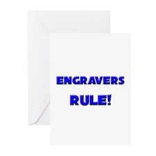 Engravers Rule! Greeting Cards (Pk of 10)