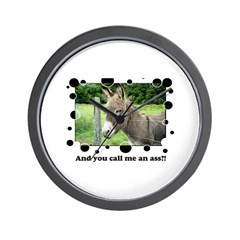 Ass Wall Clock