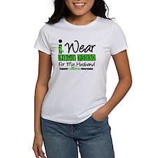 I Wear Lime Green Husband Tee